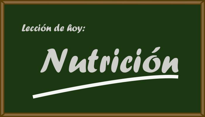 Enseñar-nutricion