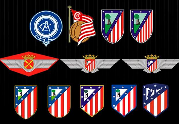 Historia de Escudos del Atlético de Madrid