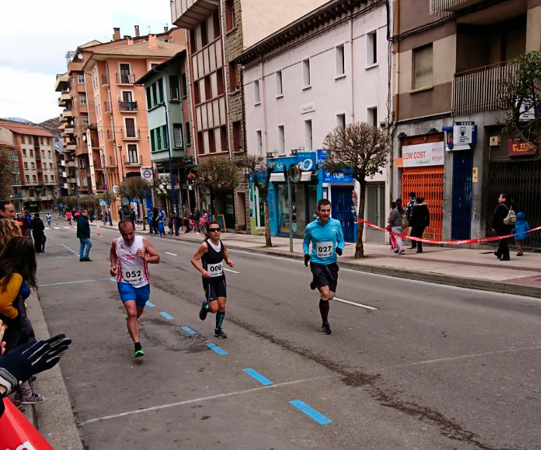 Final Media Maratón de Sabiñánigo