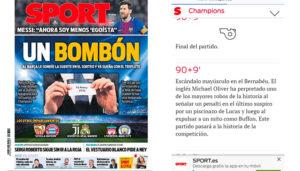 la crisis del periodismo deportivo
