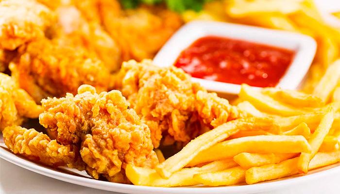 alimentos rebozados