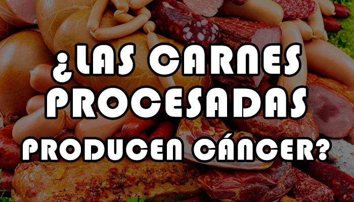carnes procesadas producen cáncer